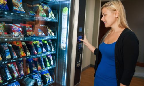 Vending machines in Southern California including Central Coast and Bakersfield