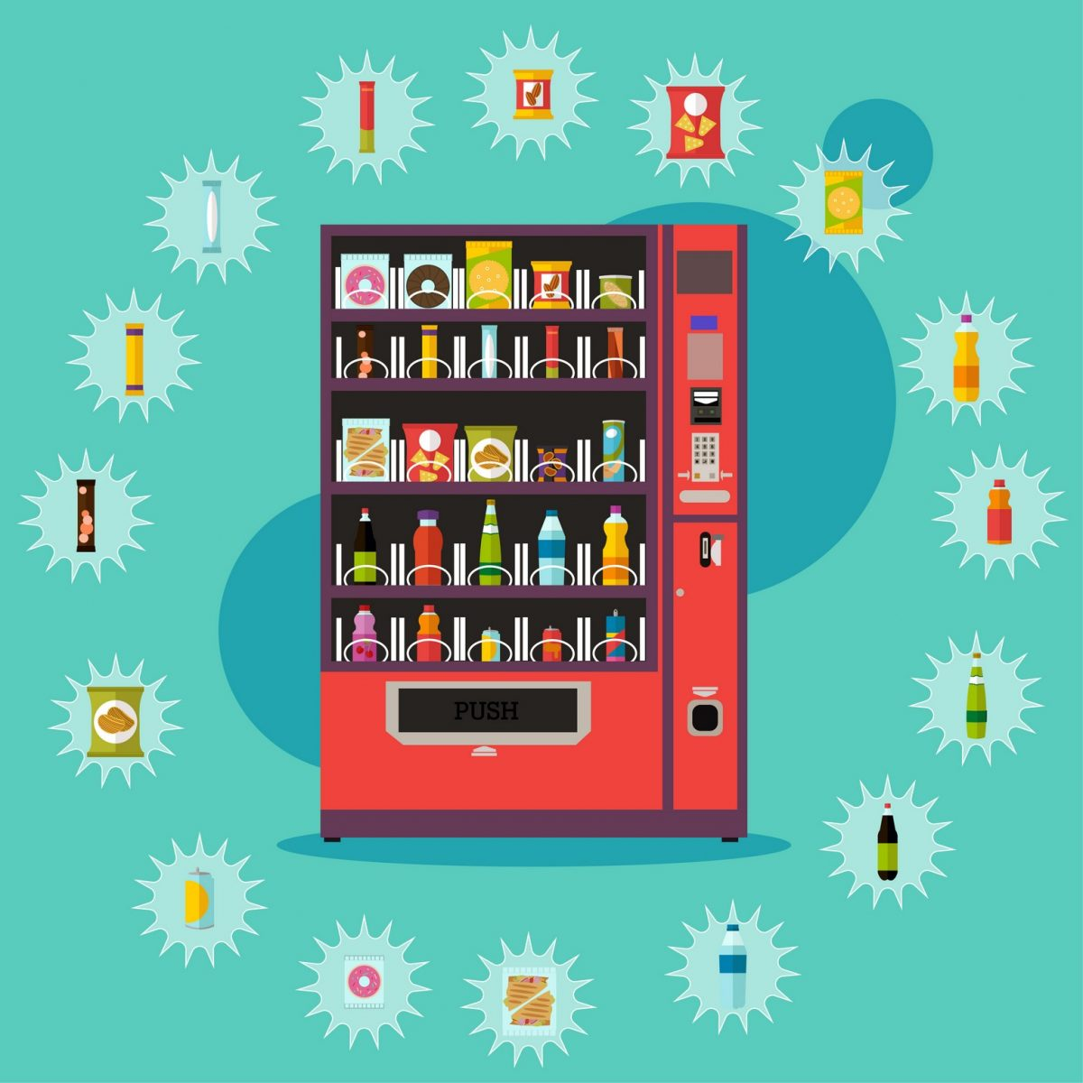 Southern California, the Central Coast and Bakersfield Area Employee Perks | Refreshing Drink | Snack Vending | Refreshment Services